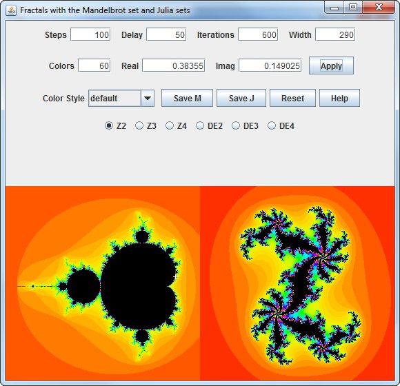 Fractal Image Explorer