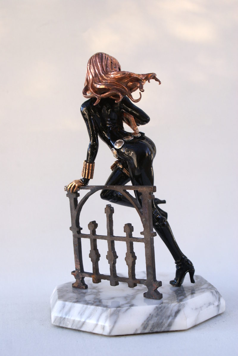 Spy Lady in Bronze