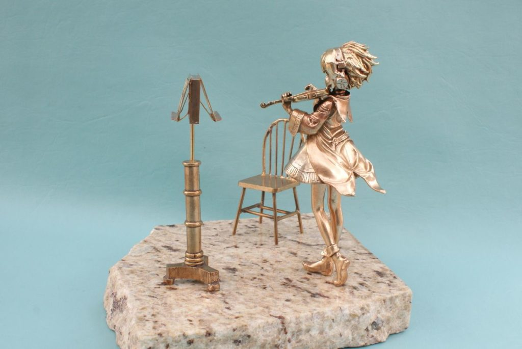 Minuet in G by Beethoven | Bronze Art by William Miles