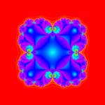 Julia Set from Z4 at (0.47422662,0.0i)