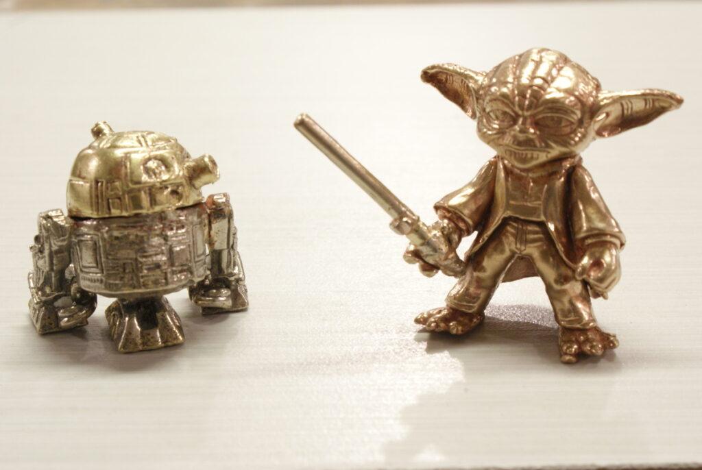 Star Wars - R2D2 and Yoda