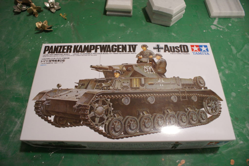 Tamiya Models Pzkfw IV Ausf D Model Kit