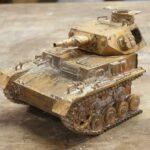 Cast Panzer Tank