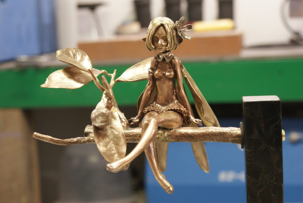 Faerie on Twig Base