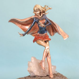 Supergirl on Pyrite