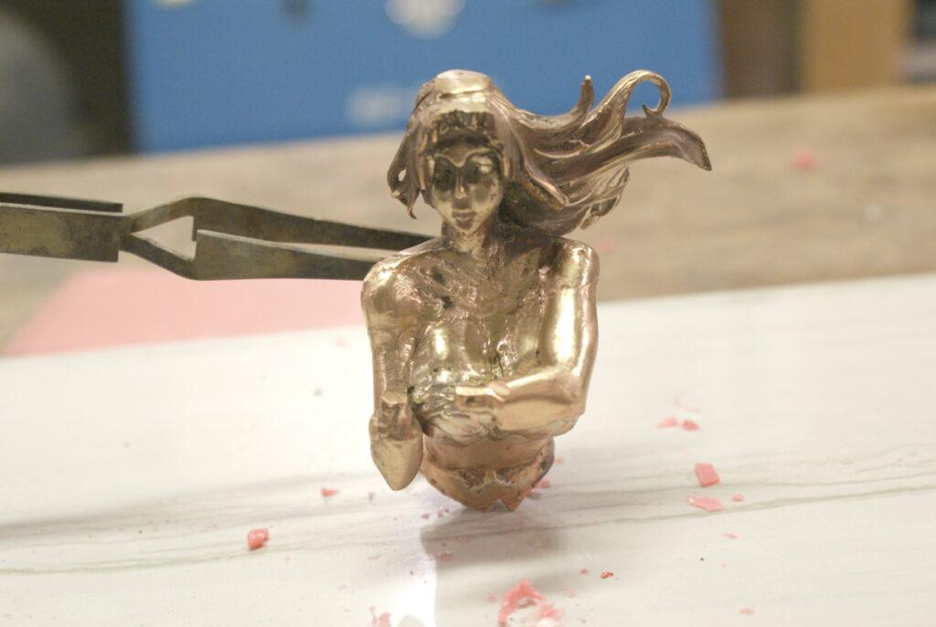 Gal Gadot in Bronze