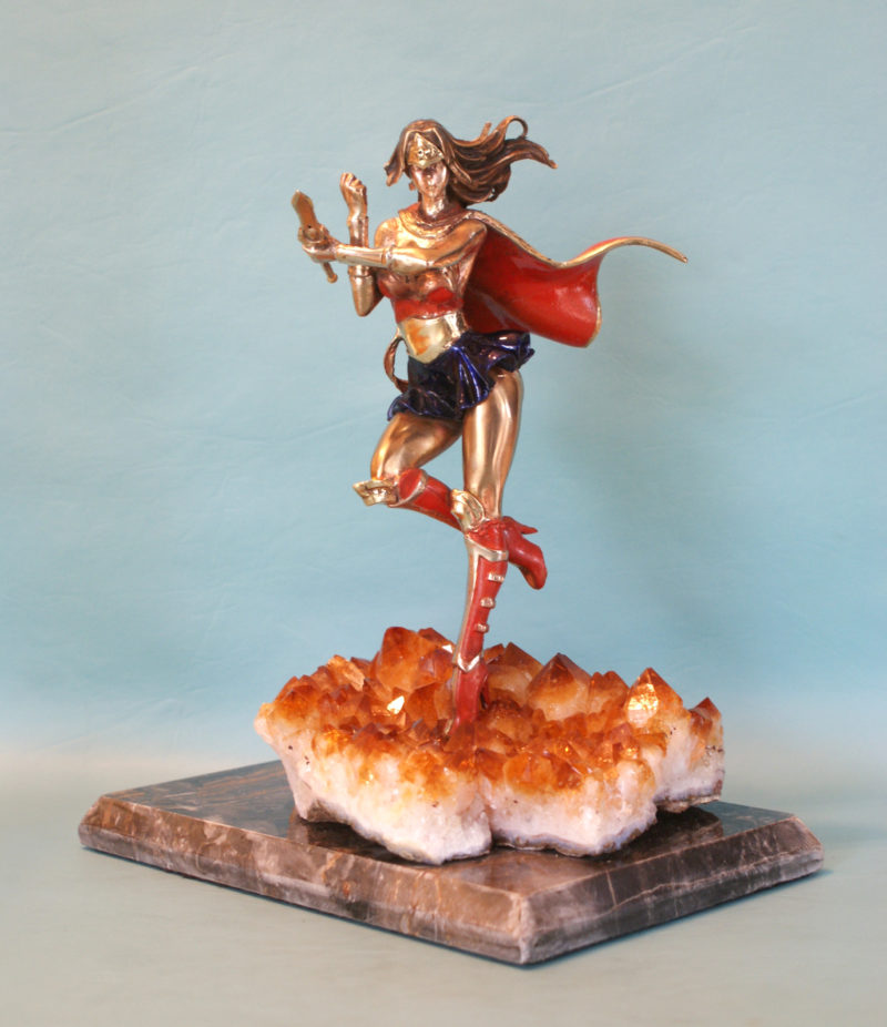 Wonder Woman on Citrine