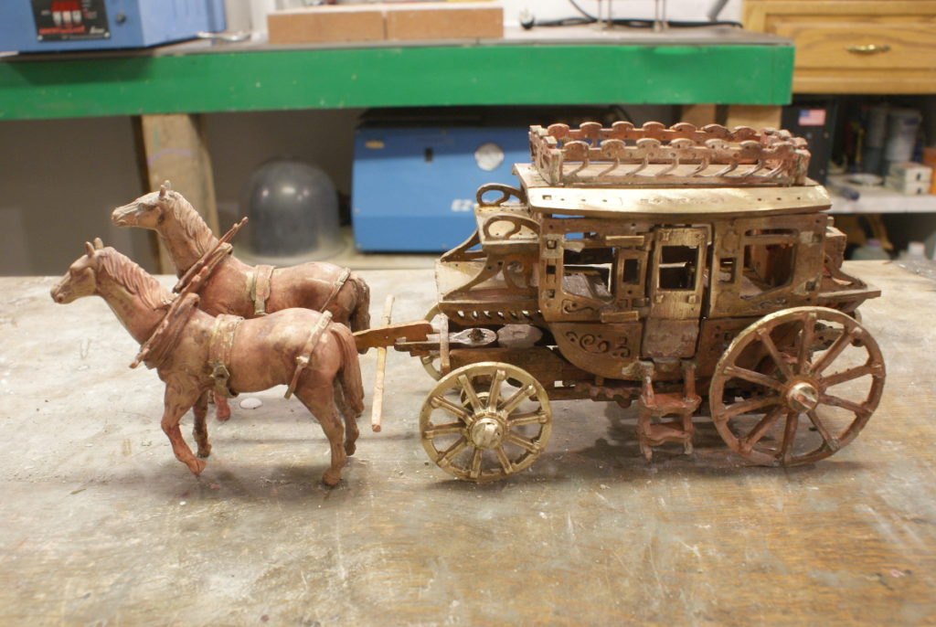 stagecoach horses